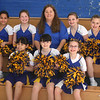 Cheerleaders from the Callahan School.