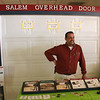 Bill VanLoon of Salem Overhead Door at the Home and Garden Show