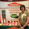 Nancy Goodrow of Servpro at this years Home and Garden Show