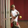 Saugus varsity softball player Allison Cooper during indoor practice Tuesday March 23, 2010. Item Photo/ Reba M. Saldanha