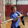 Saugus varsity softball player Jackie Doherty during indoor practice Tuesday March 23, 2010. Item Photo/ Reba M. Saldanha