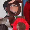 Students at the Washington School in Lynn did a play based on seven books written by Eric Carle. Edward Lara plays the brown bear in the book Brown Bear, Brown Bear.