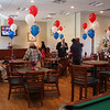 A portion of the new VFW Hall on Main Street in Saugus.