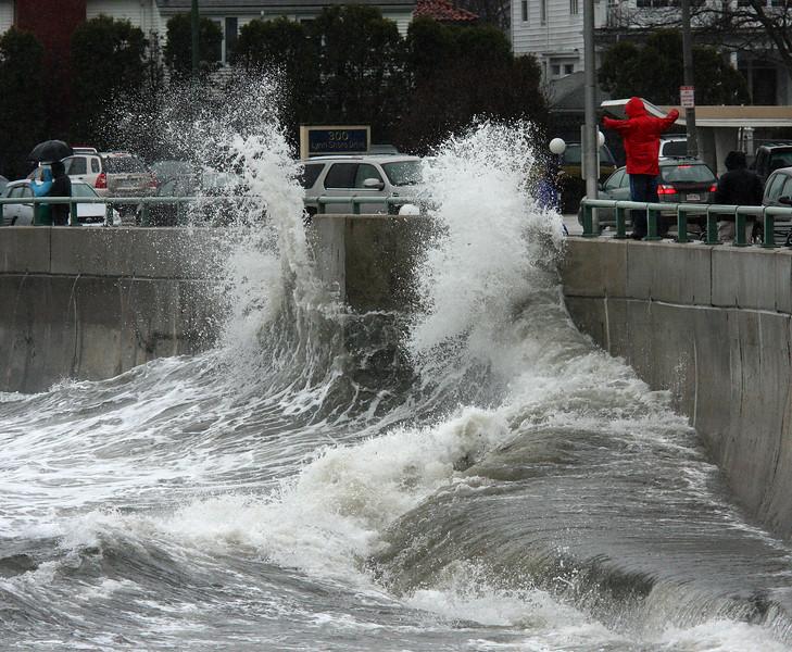 High tide at noon today Lynn Shore Drive