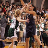 St. Mary's Cassi Amenta and Pentucket's Holly Jakobsons during the MIAA Div 3 north semi-final at St. John's Prep Wednesday March 3, 2010. Item Photo/ Reba M. Saldanha