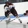 Lynn Jets Eric Bransfield and Concord-Carlisle's in the Division 3 North semifinal at the Chelmsford Arena Thursday March 4, 2010. Item Photo/ Reba M. Saldanha