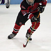 Marblehead's Austin Haley in the Division 2 North semifinal at the Chelmsford Arena Thursday March 4, 2010. Item Photo/ Reba M. Saldanha