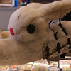 Swifty  the mechanical rabbit at Wonderland, is just one of the items for sale and auction by Phil Castinetti of Sportsworld  Route 1 North in Saugus.