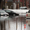 Day two of flooding. Walnut Street in Peabody remains flooded as of 11:30 am.