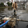 Joe Brown of Lynn water and Sewer, on Shoemaker Road in Lynn today.