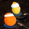 Orange and Lemon sorbetto at Allo Allo Cafe in Swampscott. Item Photo/ Reba M. Saldanha