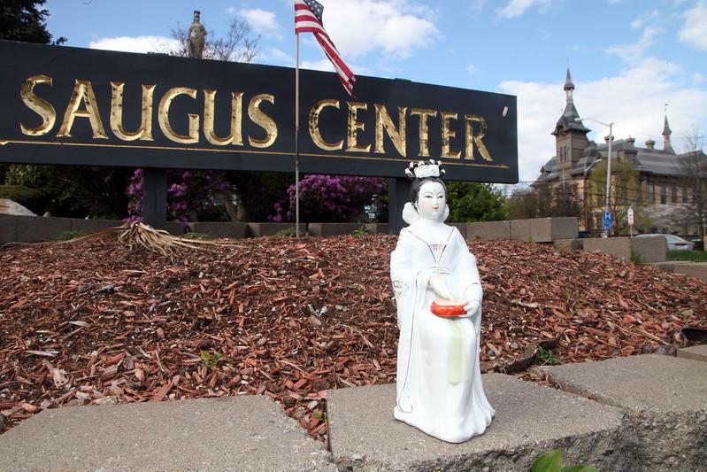 Geisha in Saugus Center Monday April 12, 2010. Item Photo/ Reba M. Saldanha