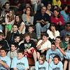 The crowd during the Belmonte Middle School teacher/student basketball game Wednesday APril 14, 2010. Item Photo/ Reba M. Saldanha