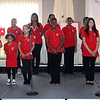 The Girl's Inc. Chorus provided entertainment at the 22nd annual luncheon at the Danvers Port Yacht Club.