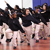 The step squad In the Mak'n performed at the 10th annual Healthy Kids Day at the YMCA in Lynn on Saturday. In the Mak'n is a Lynn group in its 12th year.