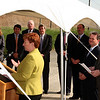 Ellen Smith, the Chief Operating Officer at National Grid, was one of the featured speakers at the power lines relocation groundbreaking ceremony on Hanson Street in Lynn jtoday.