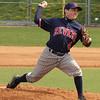 Jonathan Chiarelli pitching.