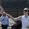 Sarah Cowdell, first doubles, Lynn English.