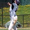 Matt Turmenne cuts a throw to home.