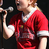 Kerriann Moley sung the Star Spangled Banner at the West Lynn opening Day ceremonies.