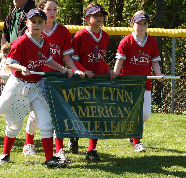 West Lynn Little League entering Walter Flynn Field