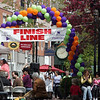 The Finish Line during the annual HAWC walk in downtown Salem Sunday April 25, 2010. Item Photo/ Reba M. Saldanha