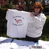 Jen McCarthy selling tee-shirts