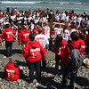 Over 200 students celebrated Good Friday in Nahant today.