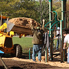 General Electric donated one thousand dollars worth of mulch for Gallagher Park in Lynn.