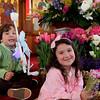 Milena and Nicholas Aggelikas at St. George's Church in Lynn Easter Sunday April 4, 2010. Item Pohot/ Reba M. Saldanha