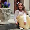 Madison Spencer, 6, at St. mary's Church in Lynn Easter Sunday April 4, 2010. Item Pohot/ Reba M. Saldanha