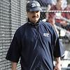 St. John's Prep's head coach Pat Yanchus in Danvers on Tuesday April 6, 2010. Item Photo/ Reba M. Saldanha.
