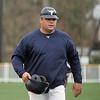Peabody's head coach Mark Bettencourt in Danvers on Tuesday April 6, 2010. Item Photo/ Reba M. Saldanha.