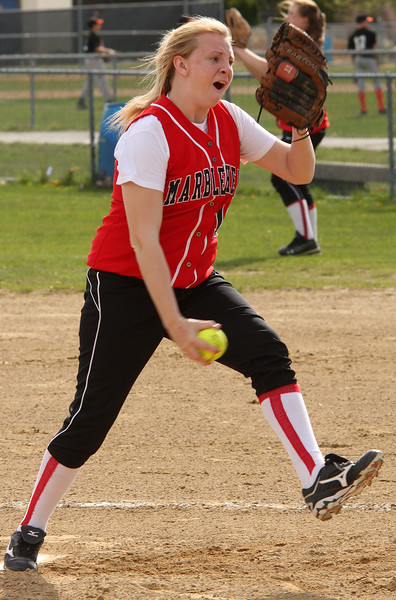 Sarah Hasting pitching against Classical.