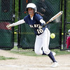 St Mary's Maria Nazzaro bunts in Swampscott Tuesday May 11, 2010. Item Photo/ Reba M. Saldanha
