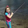Ashley Dewan fished during the Lynn Mass Bass club's annual youth fishing derby at Flax Pond in Lynn Sunday May 16, 2010. Item Photo/ Reba M. Saldanha