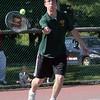 Lynn Classical's Pat Strong plays against English at Breed tennis courts Thursday May 27, 2010. Item Photo/ Reba M. Saldanha