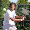 Lynn English's Badril Prihantono  plays against Classical at Breed tennis courts Thursday May 27, 2010. Item Photo/ Reba M. Saldanha