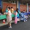 The yard sale at the Belmonte School in Saugus  on Saturday.
