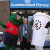 Thomas Strangie, the vice principal at Lynn English, joins Wally and Cuppy to kick off the opening of Cumberland Farms at 668 Chestnut Street in Lynn and a fundraiser for Lynn English that goes like this: For the next 30 days Lynn English gets 20 cents from every cup of coffee and every Chill Zone sold.  the goal is to raise one thousand dollars.