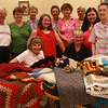 The knitting and conversation group at the Lynn Senior Center. Sitting are: Ellen Coughlan, left, a and Debbie Cardano. Standing from left to right are: Claire Cahoon, Marianne Pacheco, Loraine Murphy, Olivia Minchello, Maureen Beaudet, Ethel Forse, Bernadett Oak, Romilda Bennett, and Hazel Reinholm