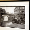 A photo of flooded Burril St from 1910 hanging at Swampscott Town Hall Monday July 12, 2010. Item Photo/ Reba M. Saldanha
