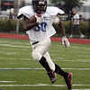 Marcell Hardmon of Marbleheadduring the Agganis All Star football classic at Manning Field Thursday July 15, 2010. Item Photo/ Reba M. Saldanha