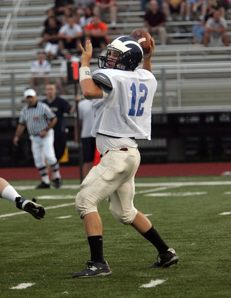 Kyle Shonio of Swampscott at the Agganis All Star football classic at Manning Field Thursday July 15, 2010. Item Photo/ Reba M. Saldanha