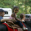 Kaylei Heng, 3, rides a pony during the Friends of Lynn Woods family fun day  Saturday July 17, 2010. Item Photo/ reba M. Saldanha