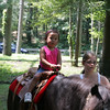 Caitlin Snow, 3, rides a pony during the Friends of Lynn Woods family fun day  Saturday July 17, 2010. Item Photo/ reba M. Saldanha