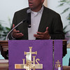 Gov Deval Patrick speaks  at Zion Baptist Church Sunday July 18, 2010. Item Photo/ Reba M. Saldanha