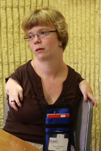 Sheila Radziewicz, Legal Advocate Program Coordinator at Lynn District Court.