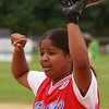Palola Ortero on first base.