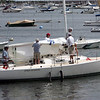 Sailors come in during the conclusion of the Boston Yatch Club race week in Marblehead Sunday July 25, 2010. Item Photo/ Reba M. Saldanha